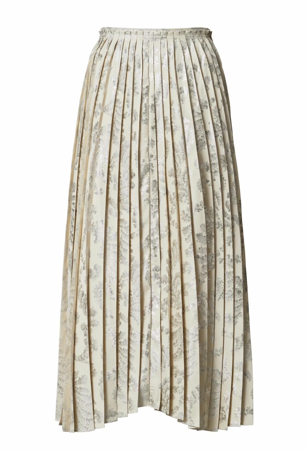 H&M Conscious Exclusive 2019 plisserad kjol