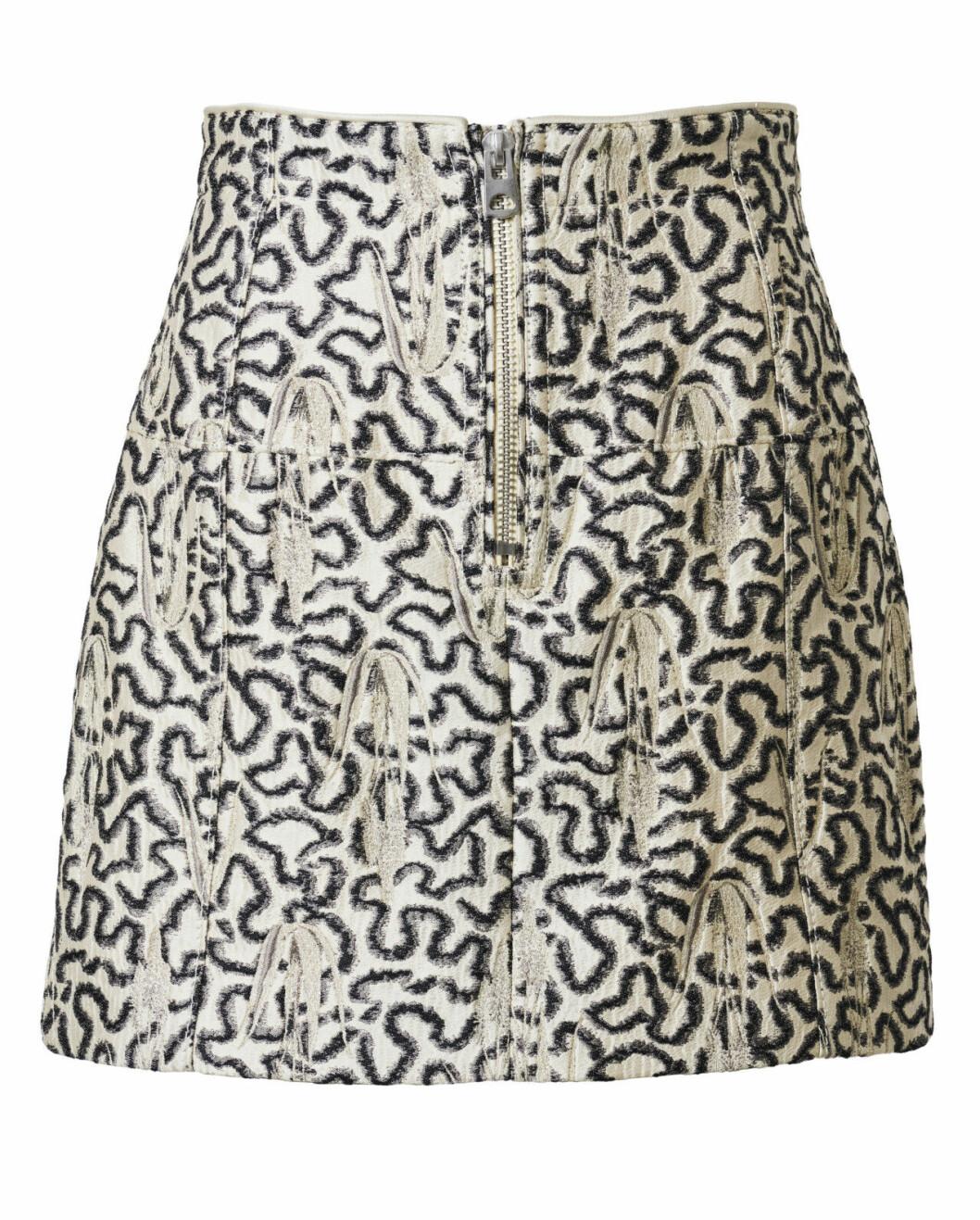H&M Conscious Exclusive 2019 mönstrad kort kjol