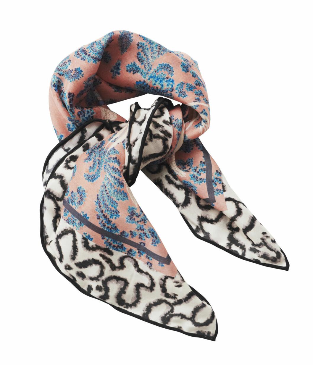 H&M Conscious Exclusive 2019 rosa och svart scarf