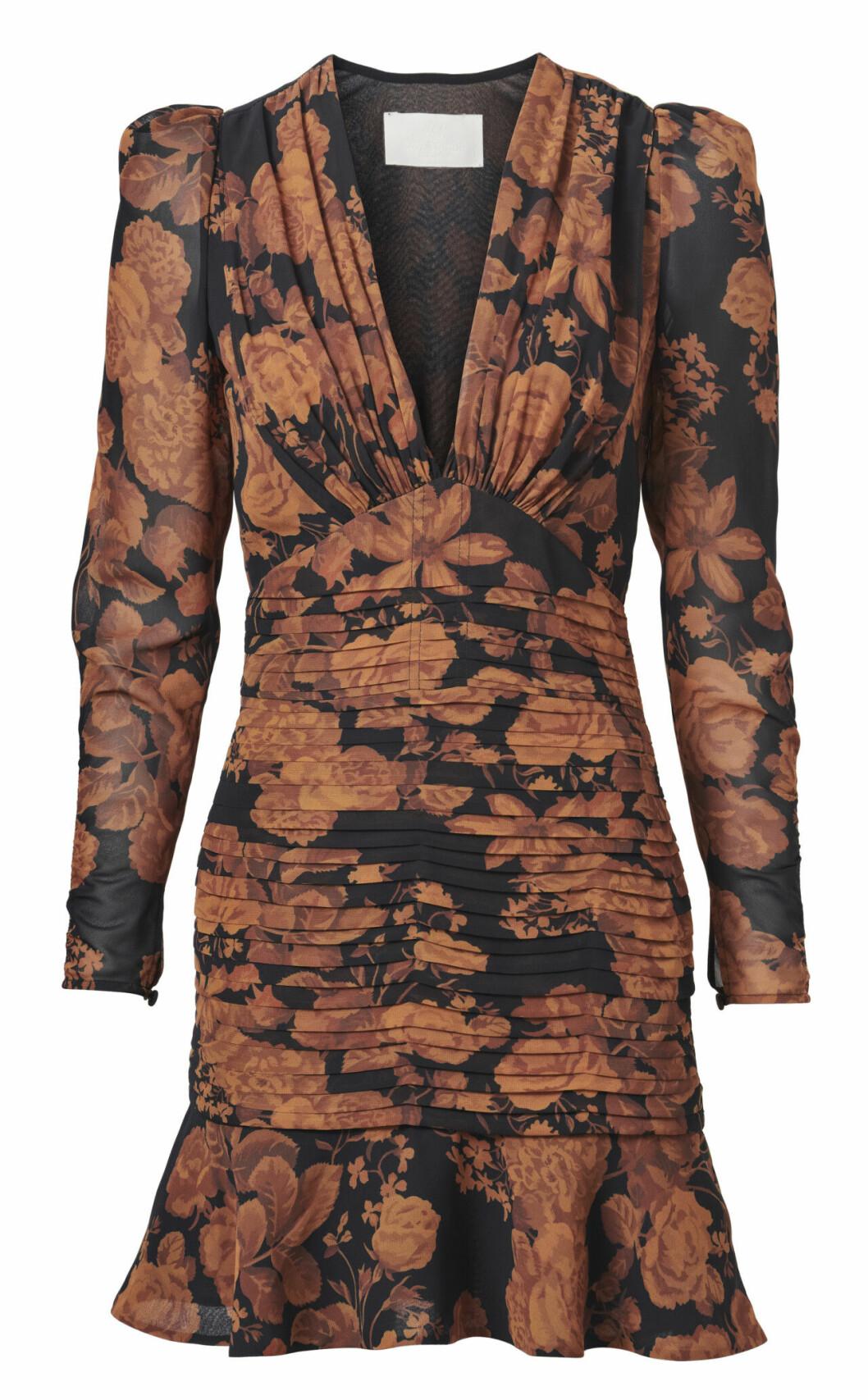 H&M Conscious Exclusive AW19 –blommig klänning med lång ärm