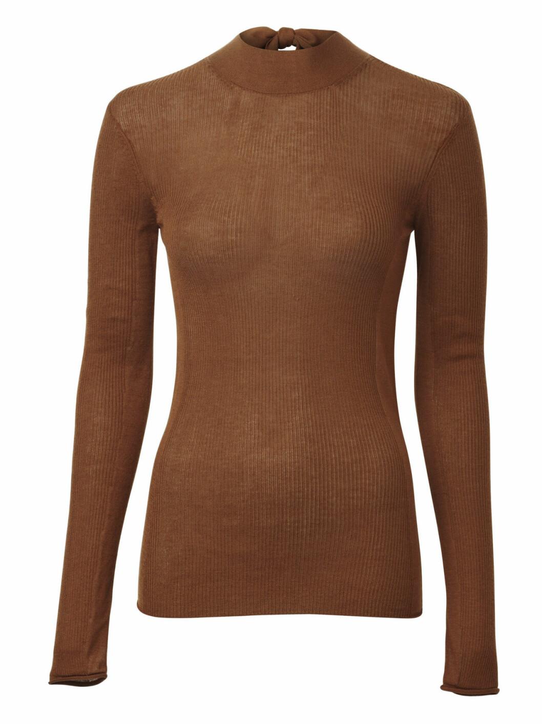 H&M Conscious Exclusive AW19 –brun tröja