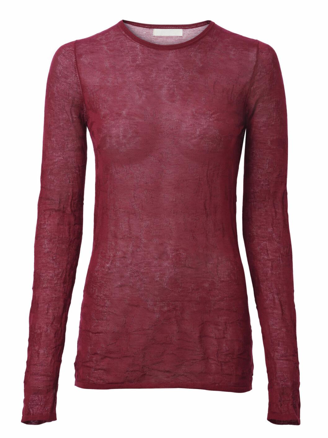 H&M Conscious Exclusive AW19 –röd tröja
