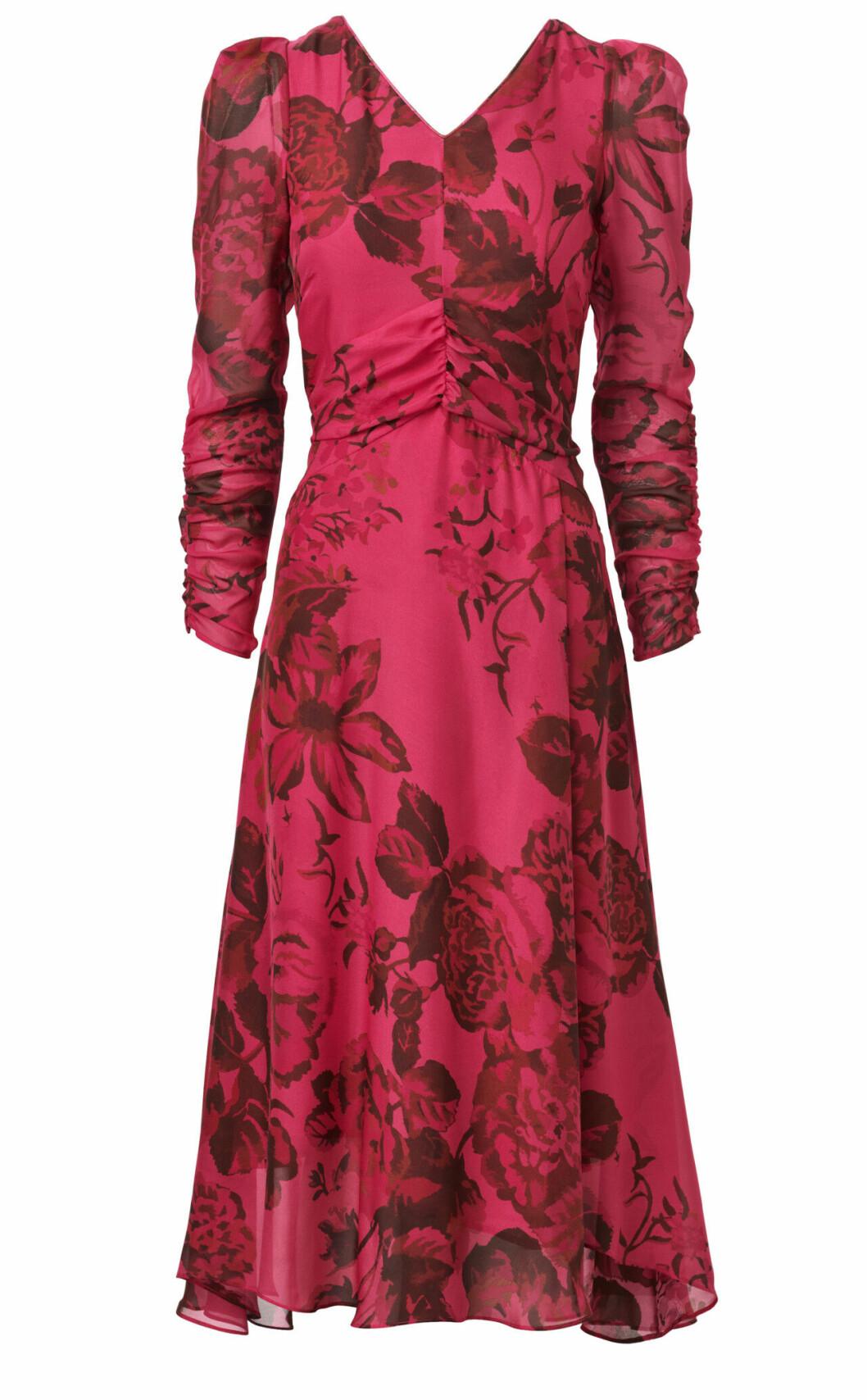 H&M Conscious Exclusive AW19 –klänning med puffärm