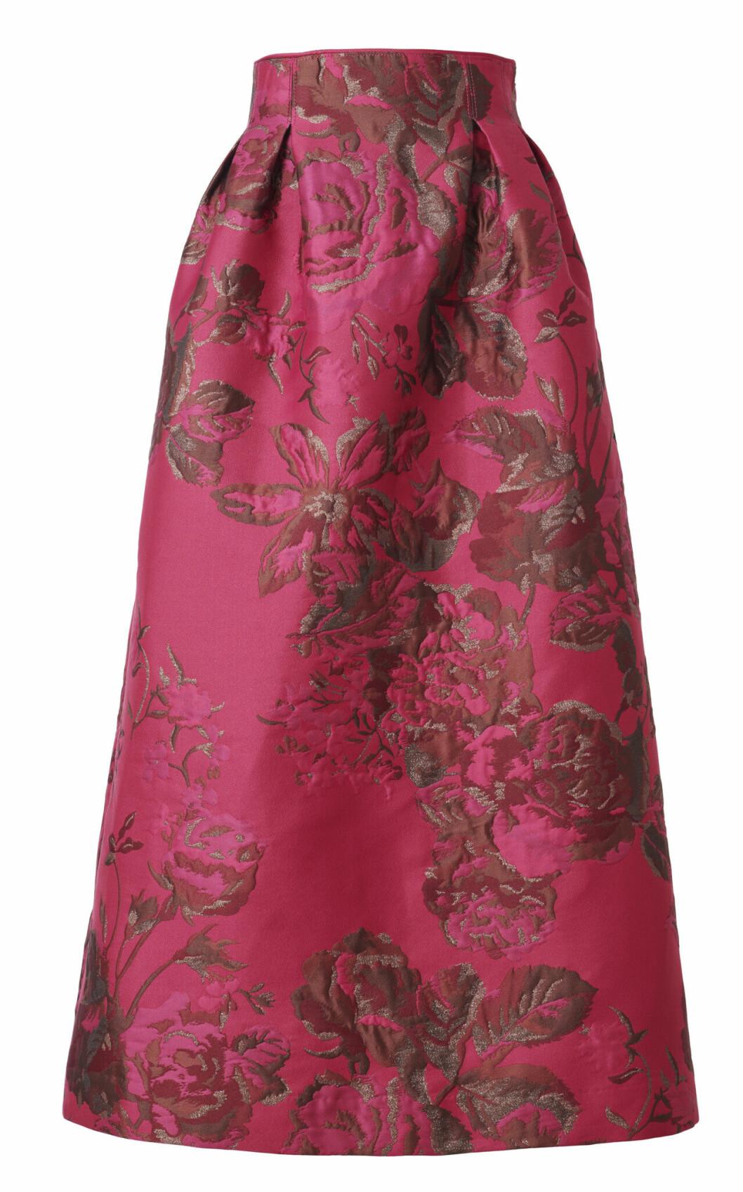 H&M Conscious Exclusive AW19 –blommig kjol