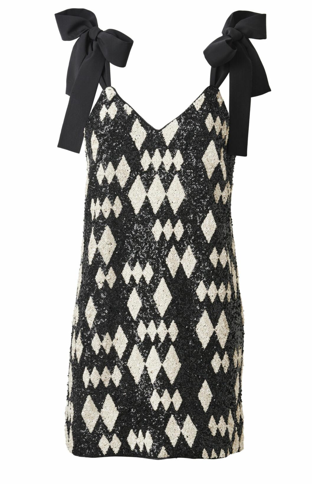 H&M Conscious Exclusive AW19 –svartvit klänning
