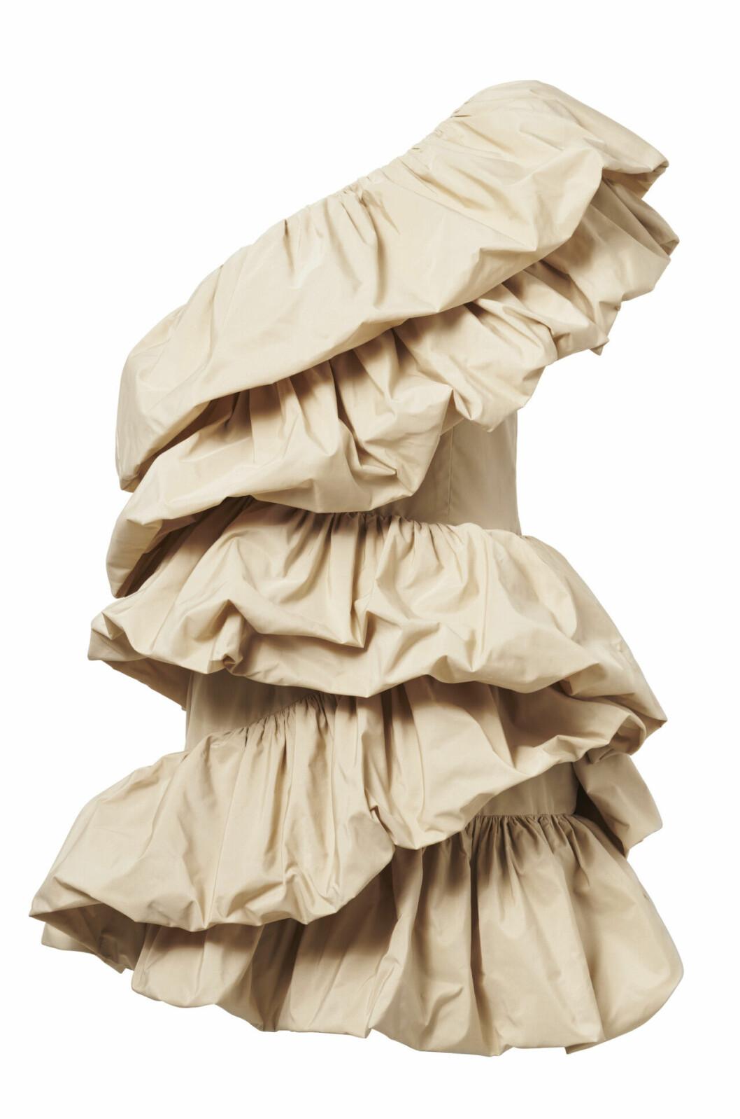 H&M conscious exclusive SS20 – beige klänning