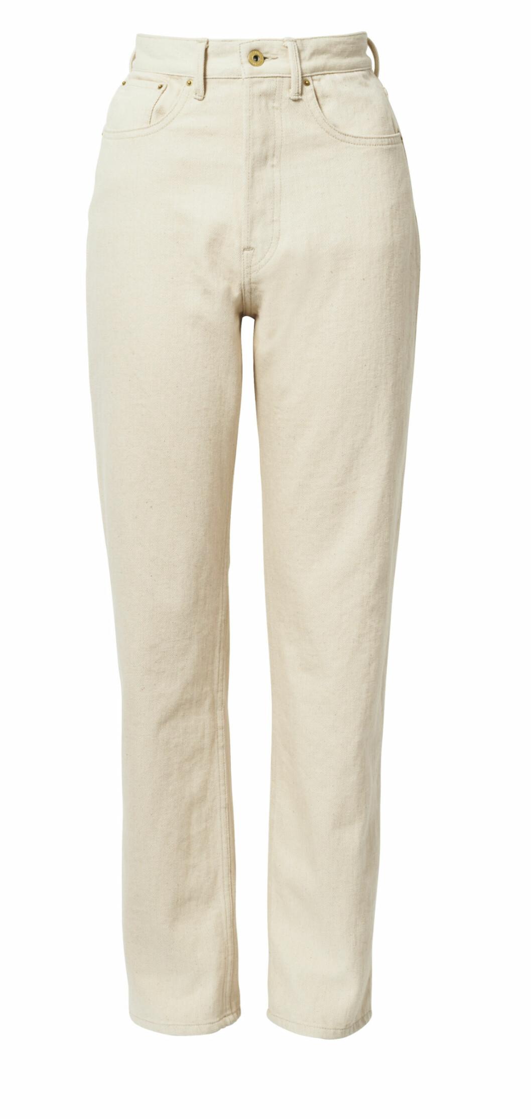 H&M conscious exclusive SS20 – beige jeans