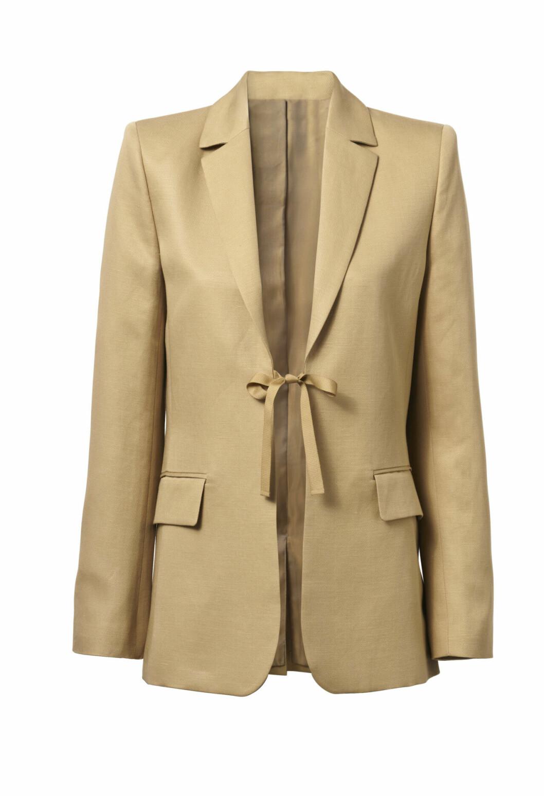 H&M conscious exclusive SS20 – beige kavaj