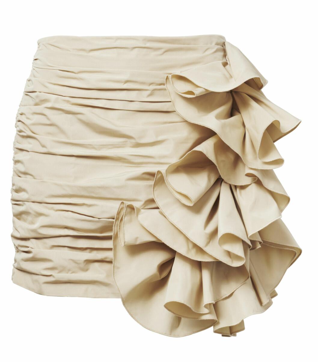 H&M conscious exclusive SS20 – beige kjol