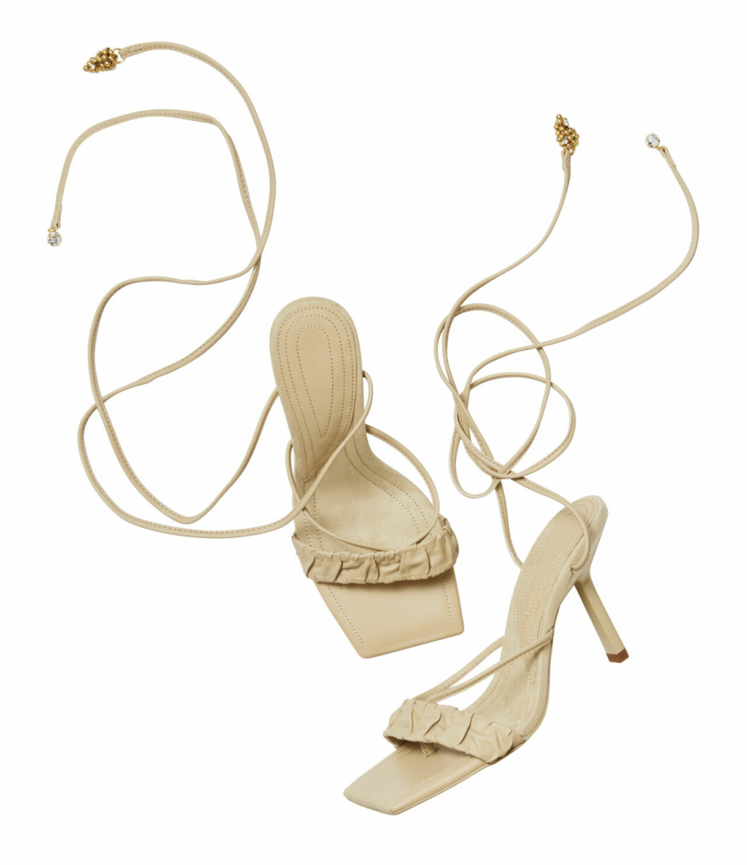 H&M conscious exclusive SS20 – beige skor