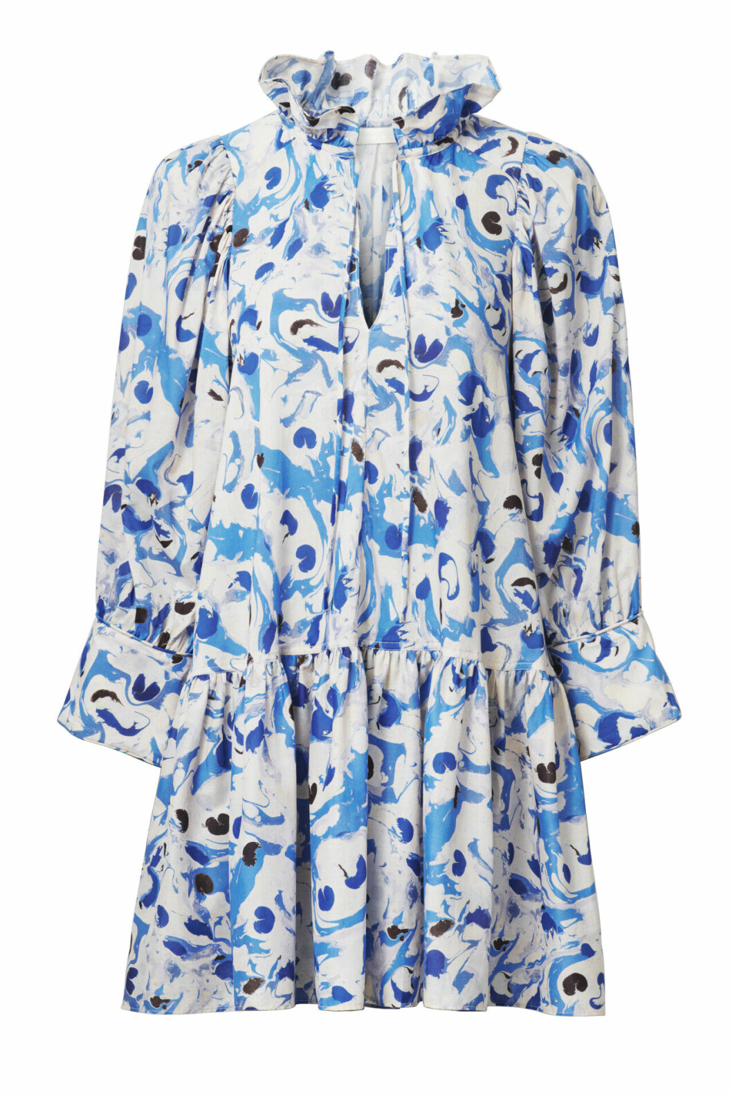 H&M conscious exclusive SS20 – blåvit tunika