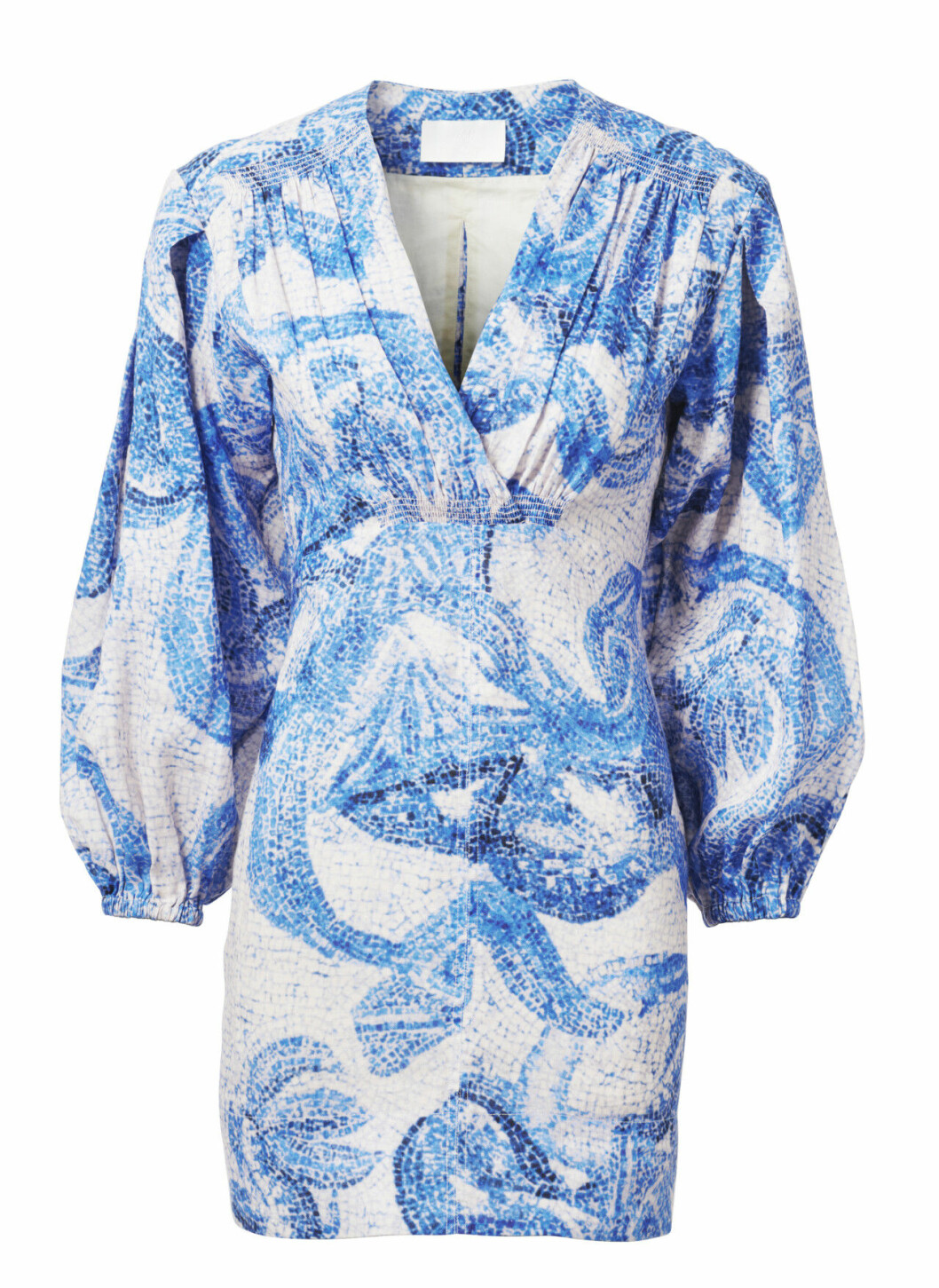 H&M conscious exclusive SS20 – blåvit klänning