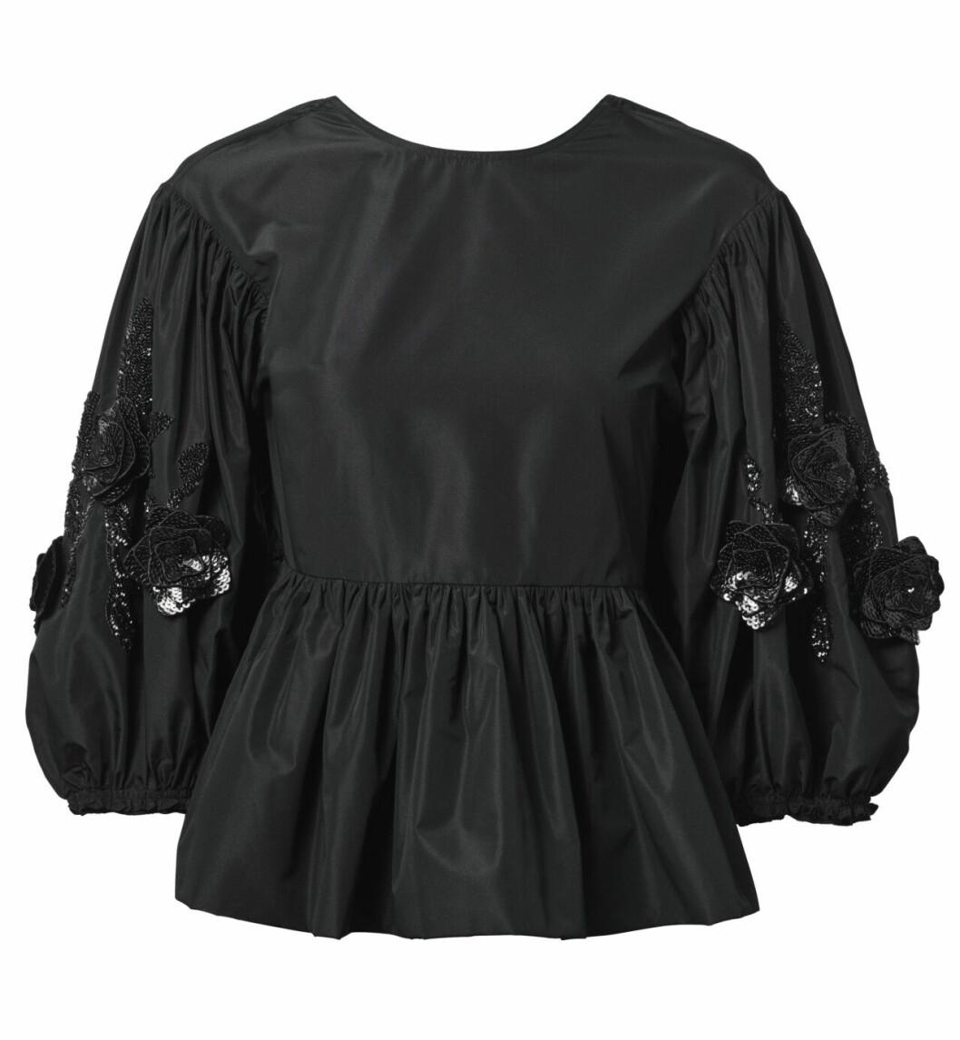 H&M conscious exclusive SS20 – svart blus