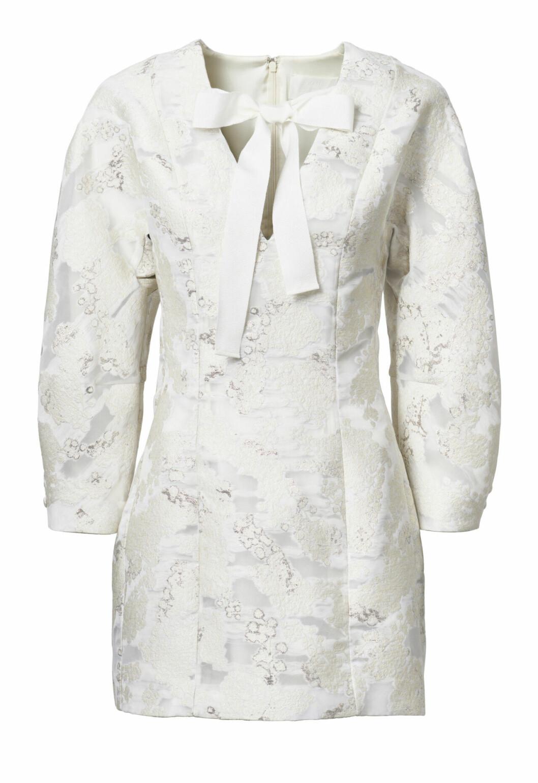 H&M conscious exclusive SS20 – vit klänning