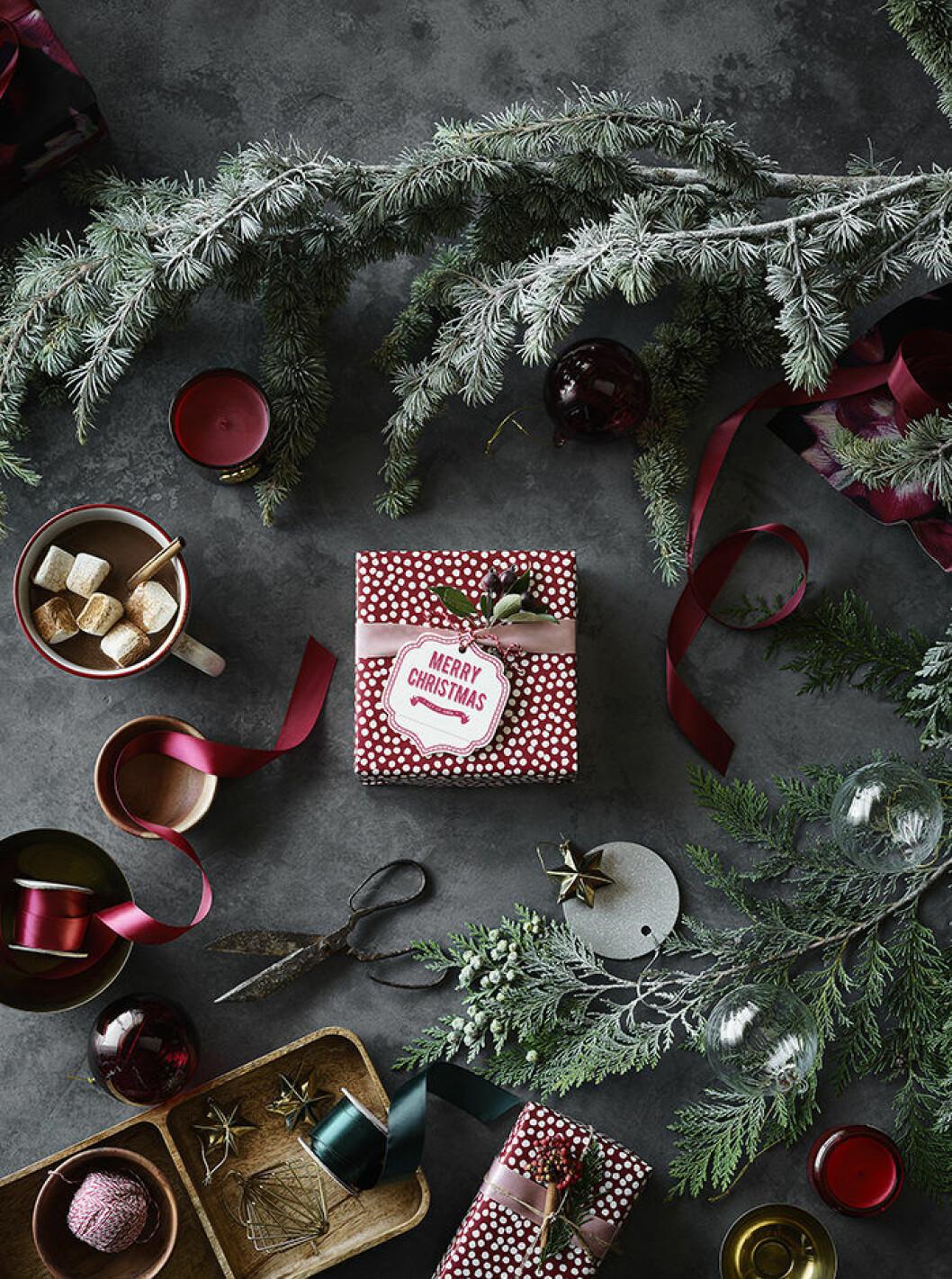 detaljer ur H&M:s julkollektion 2018