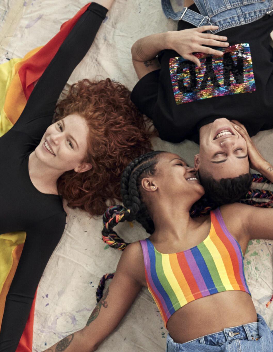 H&M lanserar kollektionen Love for all inför Pride 2019