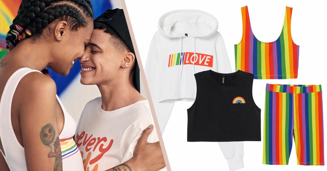 H&M släpper pridekollektion till sommaren 2019