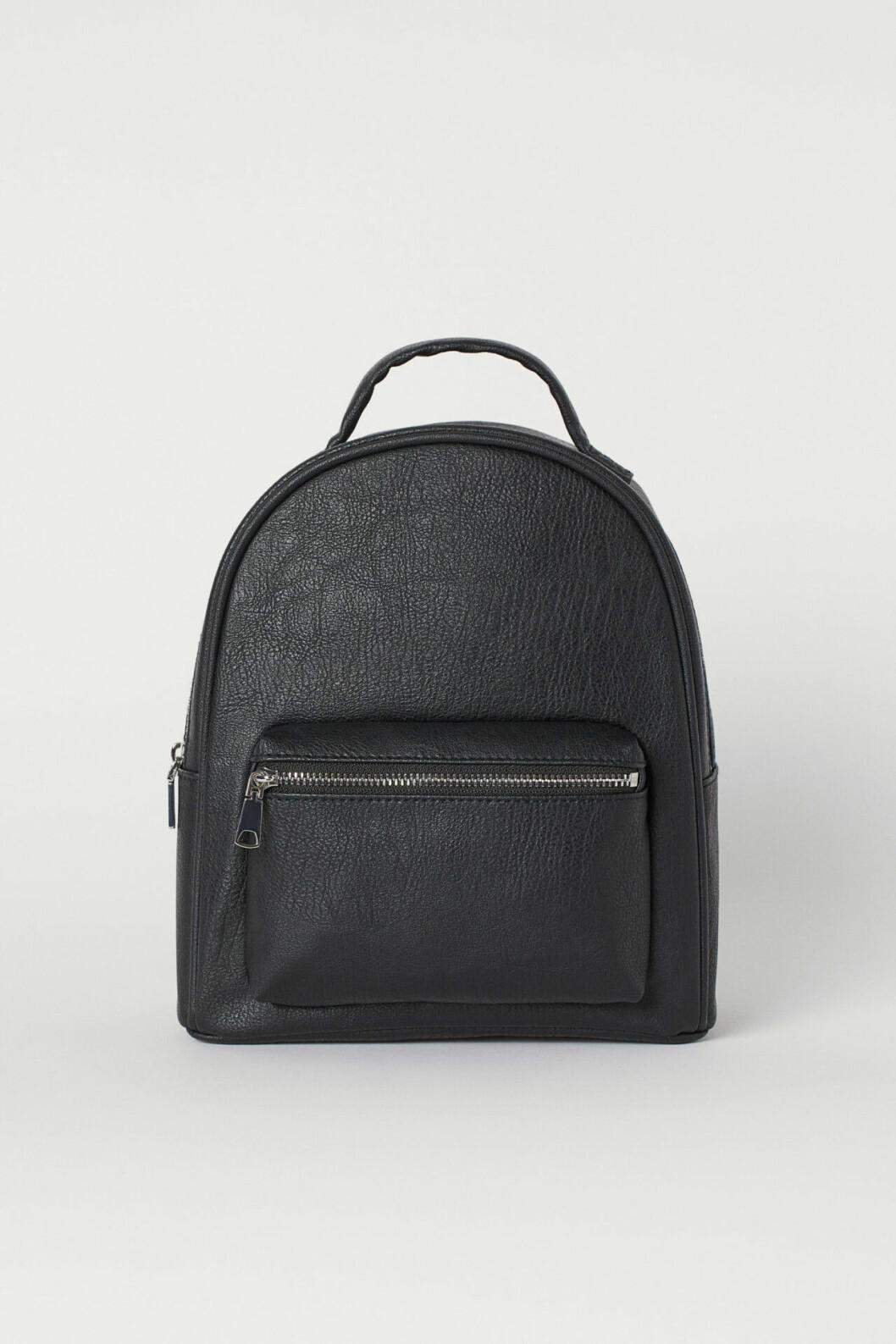 Svart ryggsäck från H&M