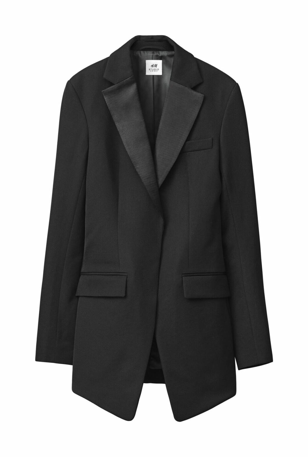 H&M Studio höstkollektion aw 2019 – svart kavaj