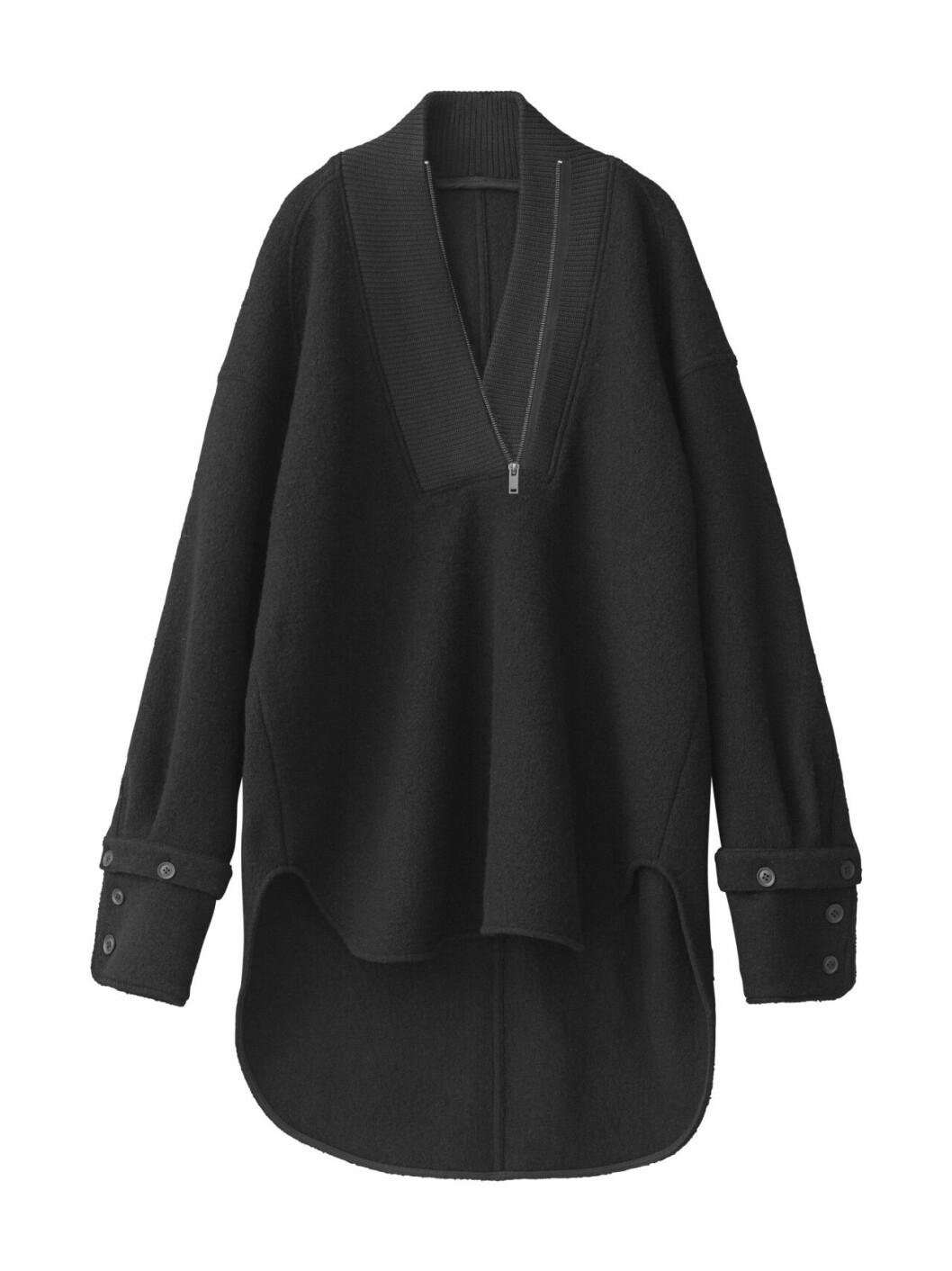 H&M Studio höstkollektion aw 2019 – svart stickad tröja