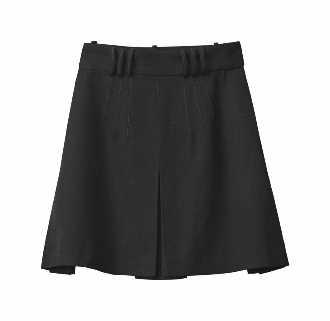 H&M Studio höstkollektion aw 2019 – svart kjol