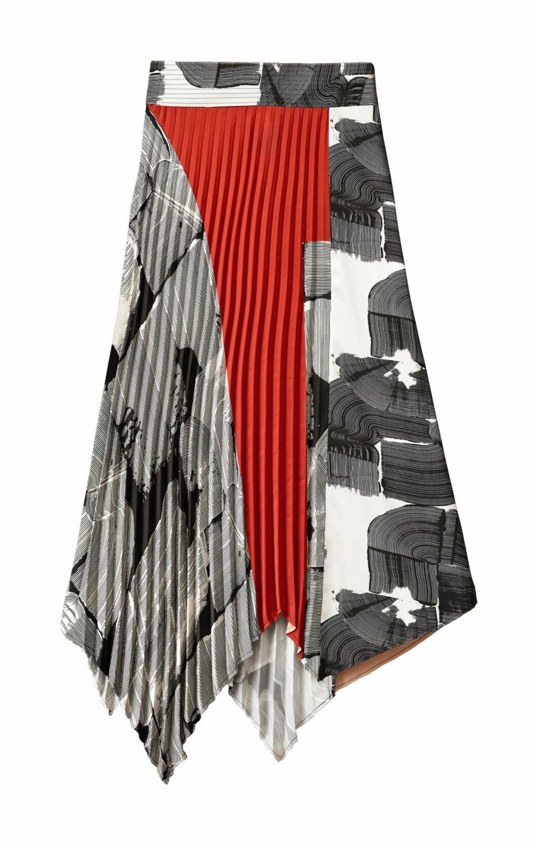 H&M Studio höstkollektion aw 2019 – plisserad kjol