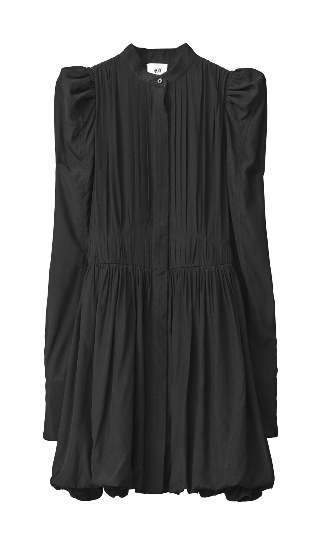 H&M Studio höstkollektion aw 2019 – svart klänning