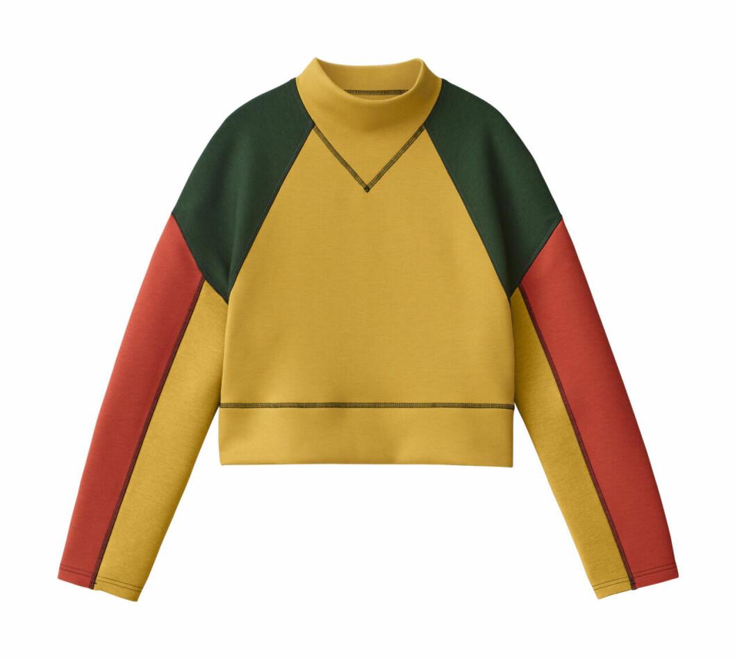 H&M Studio höstkollektion aw 2019 – blockfärgad tröja