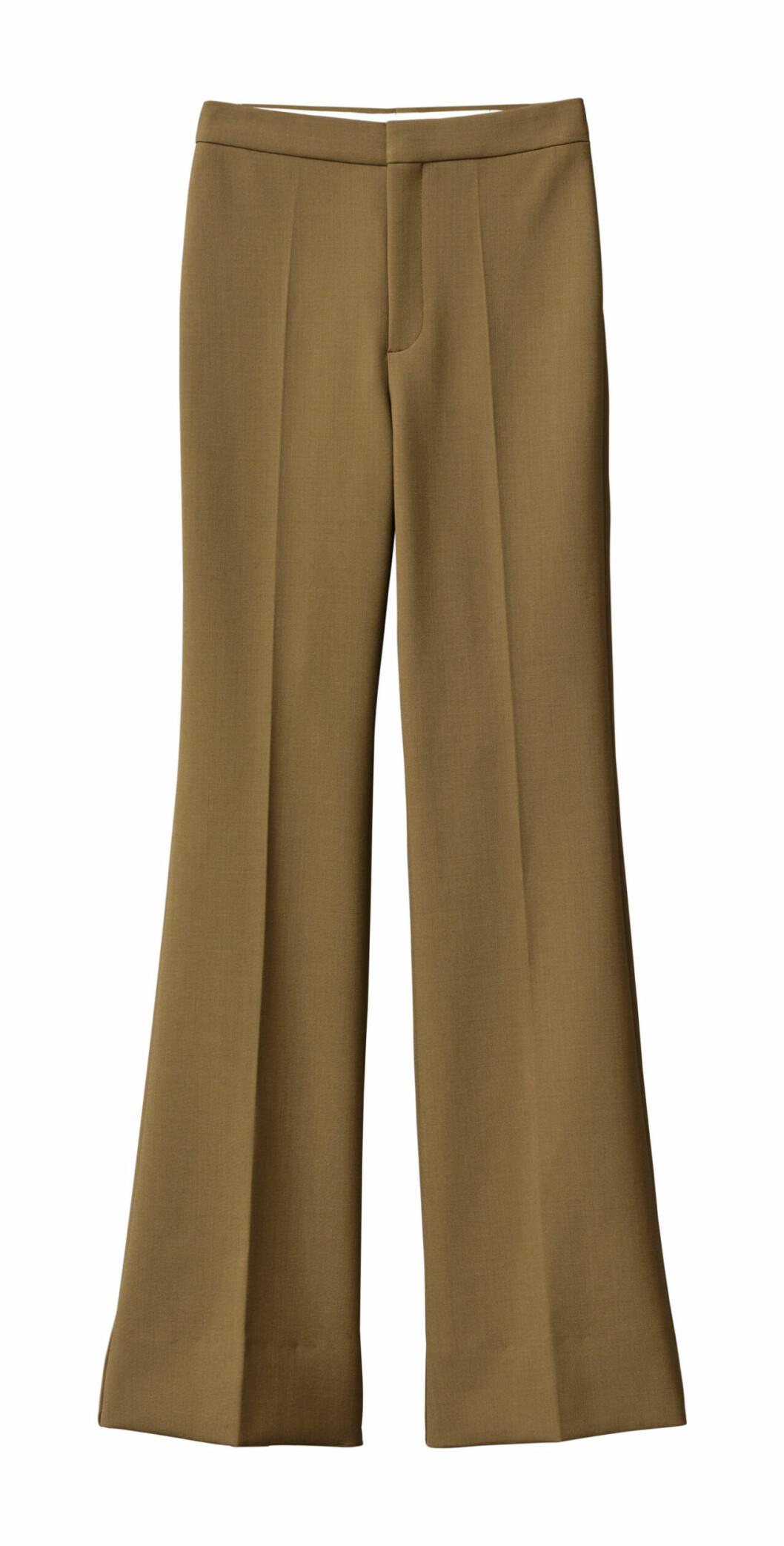H&M Studio höstkollektion aw 2019 – bruna kostymbyxor