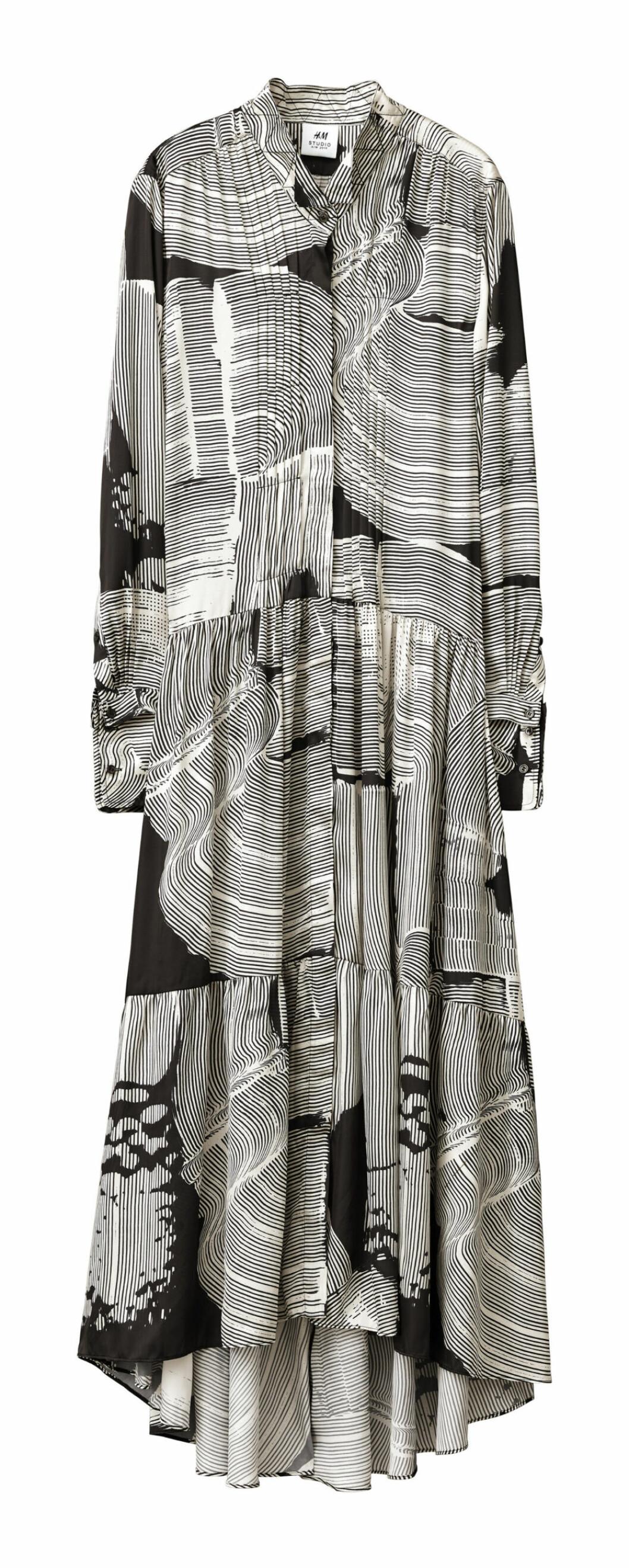 H&M Studio höstkollektion aw 2019 – skjortklänning i mönster