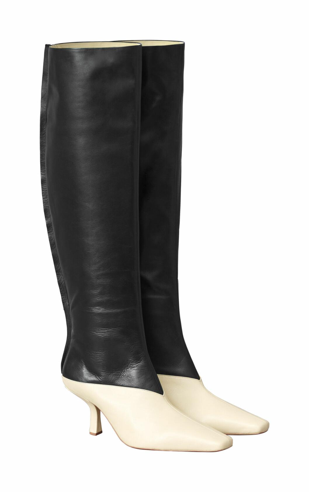 H&M Studio höstkollektion aw 2019 – svartvita stövlar