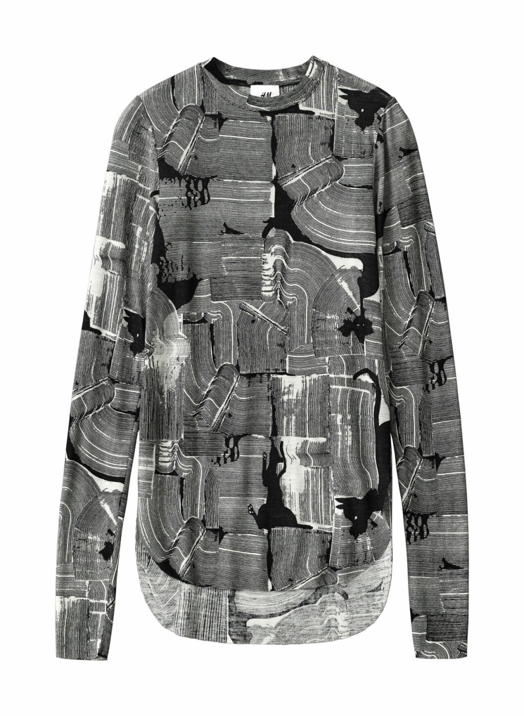 H&M Studio höstkollektion aw 2019 – svartvit tröja