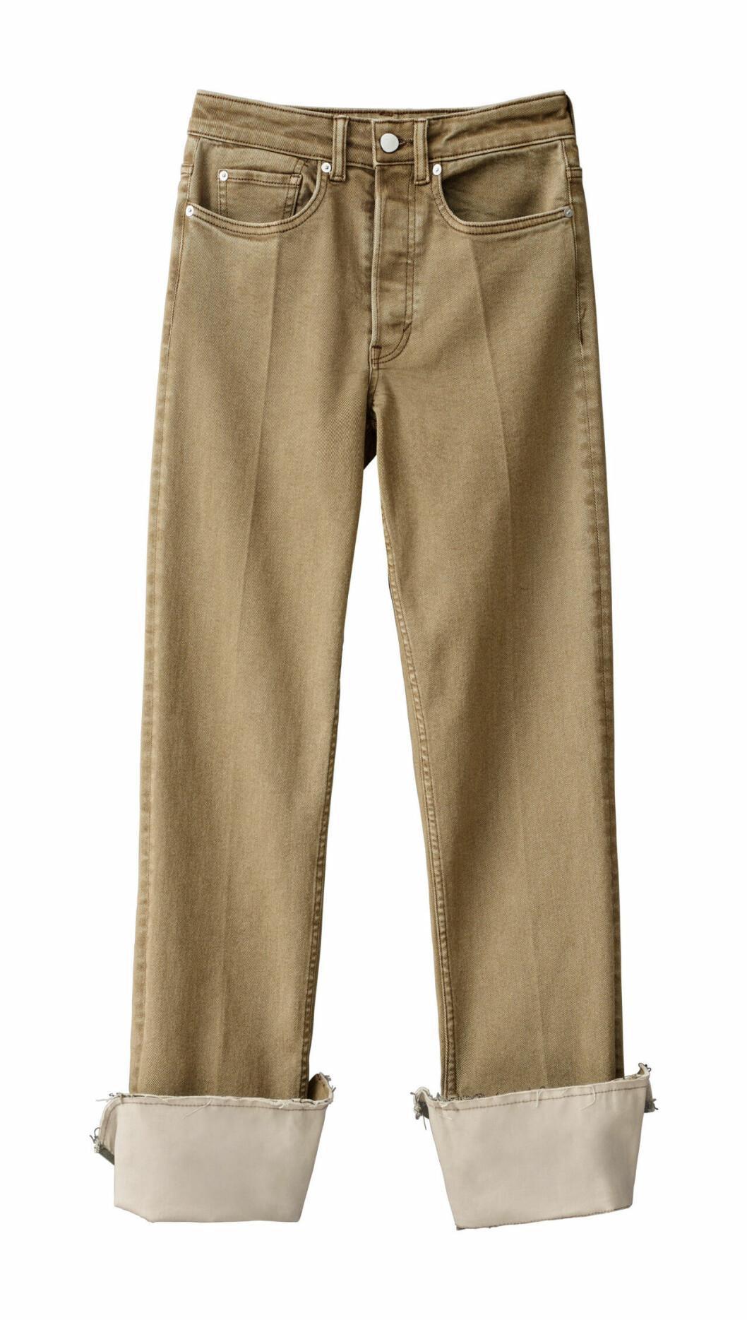 H&M Studio höstkollektion aw 2019 – beige jeans