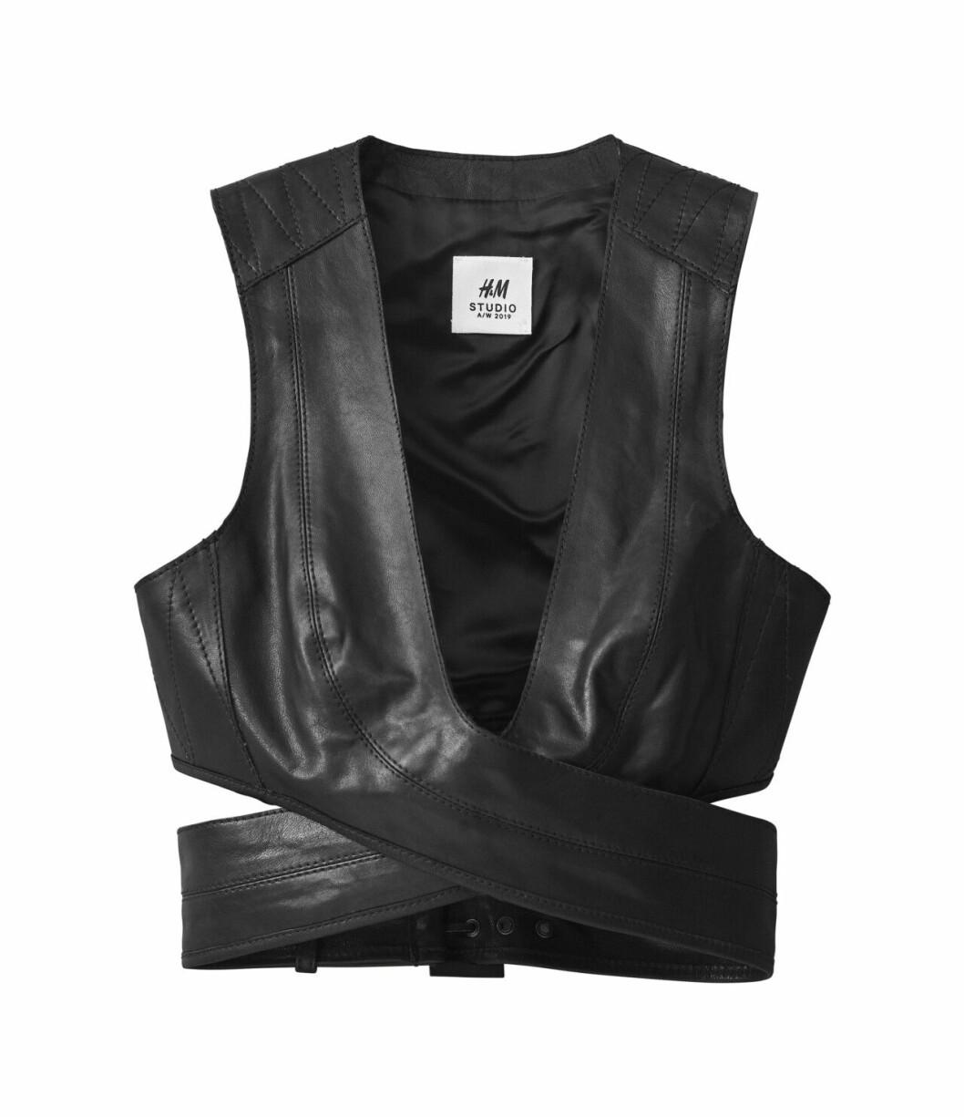 H&M Studio höstkollektion aw 2019 – skinnväst