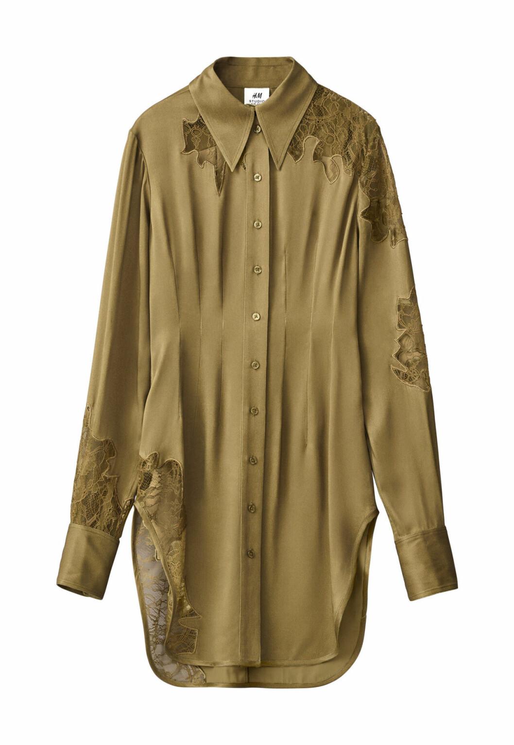 H&M Studio höstkollektion aw 2019 – skjorta i silke