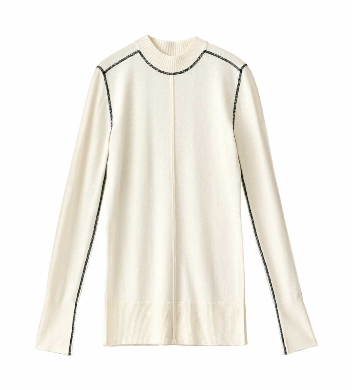 H&M Studio höstkollektion aw 2019 – vit tröja