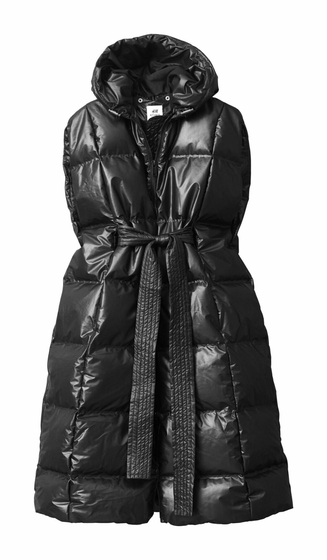 H&M Studio höstkollektion aw 2019 – svart dunväst