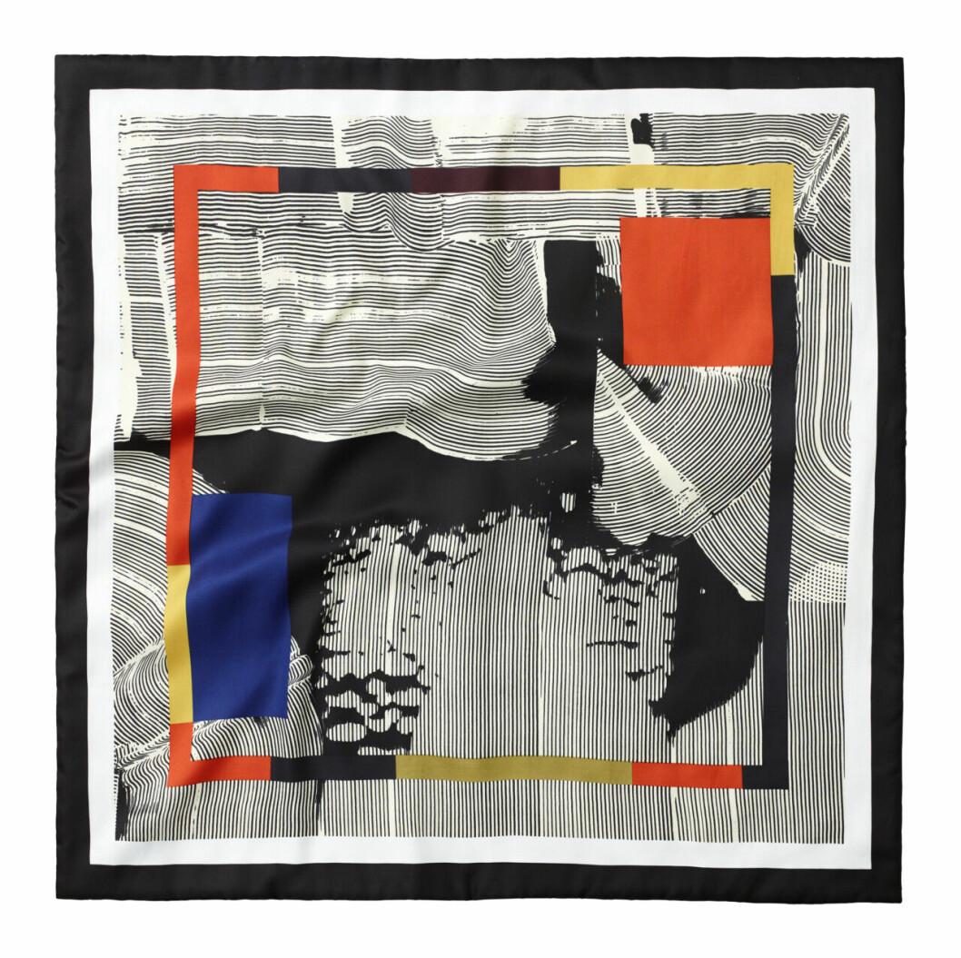 H&M Studio höstkollektion aw 2019 – mönstrad scarf