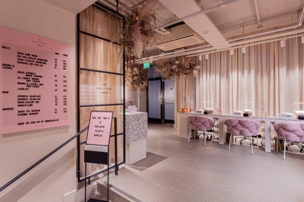 H&M Sergel Torg – beauty bar