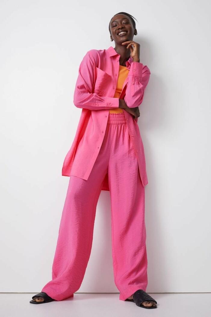 rosa set från H&M