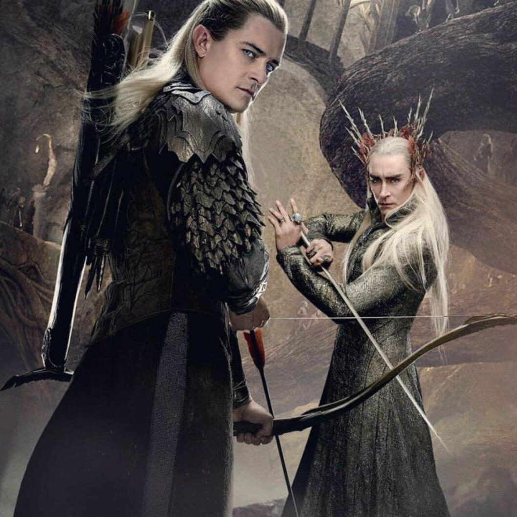 Lee och Orlando Hobbit