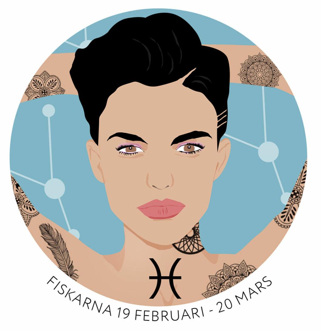Horoskop för stjärntecknet Fiskarna