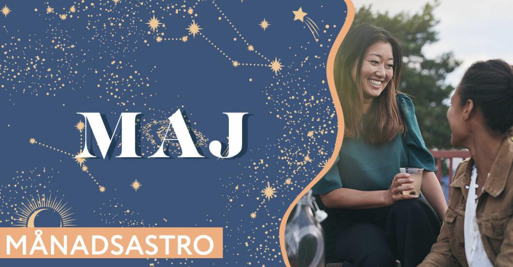 Horoskop maj 2021 – Månadshoroskop