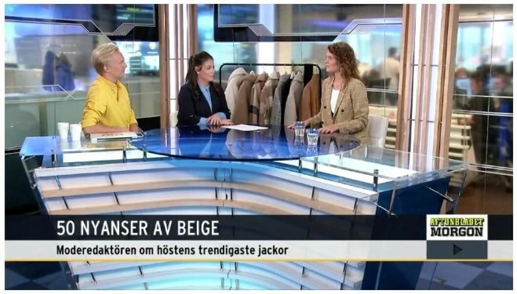 Aftonbladet morgon –Emma Blomberg pratar höstjackor till 2019