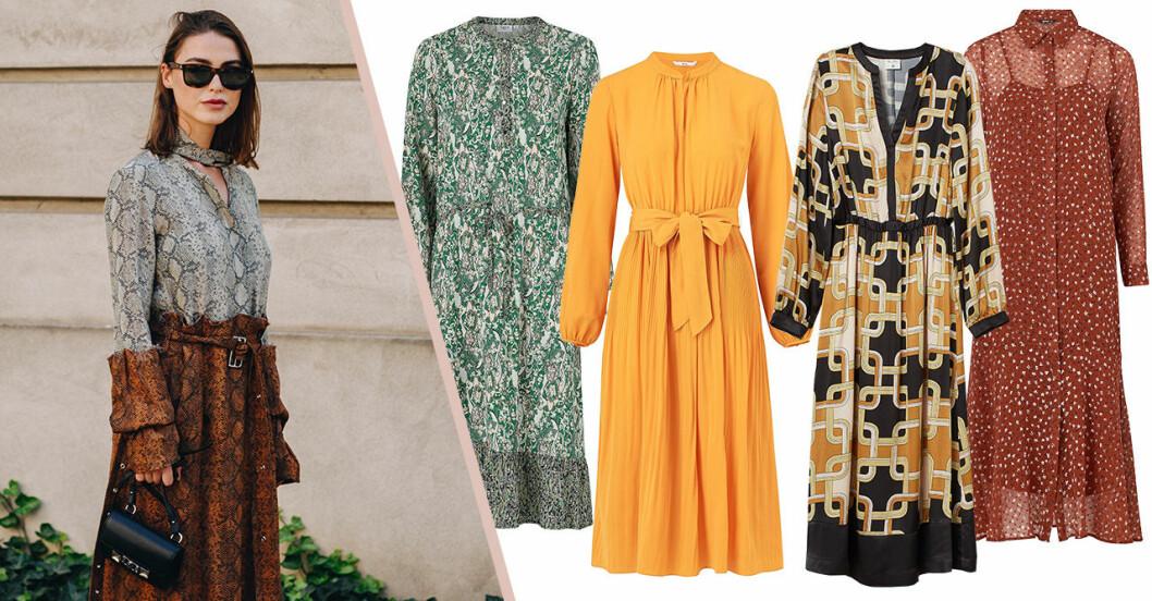 25 fina klänningar till hösten 2019