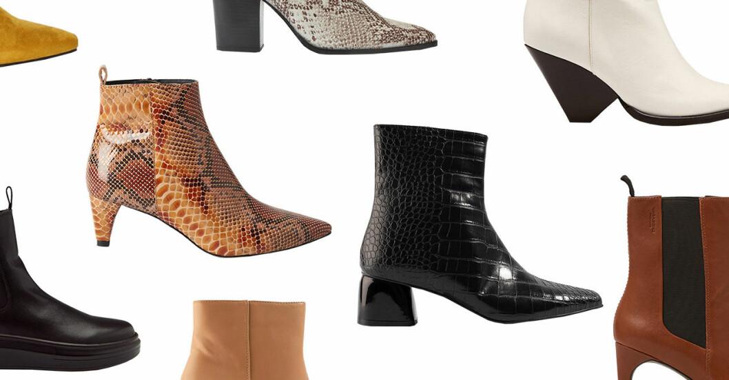 Höstskor 2019: 30 boots för dam till hösten