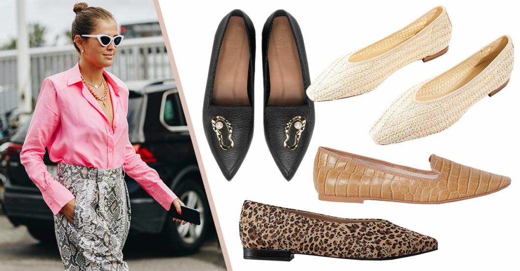 Höstskor 2019: Platta skor loafers och ballerina för dam