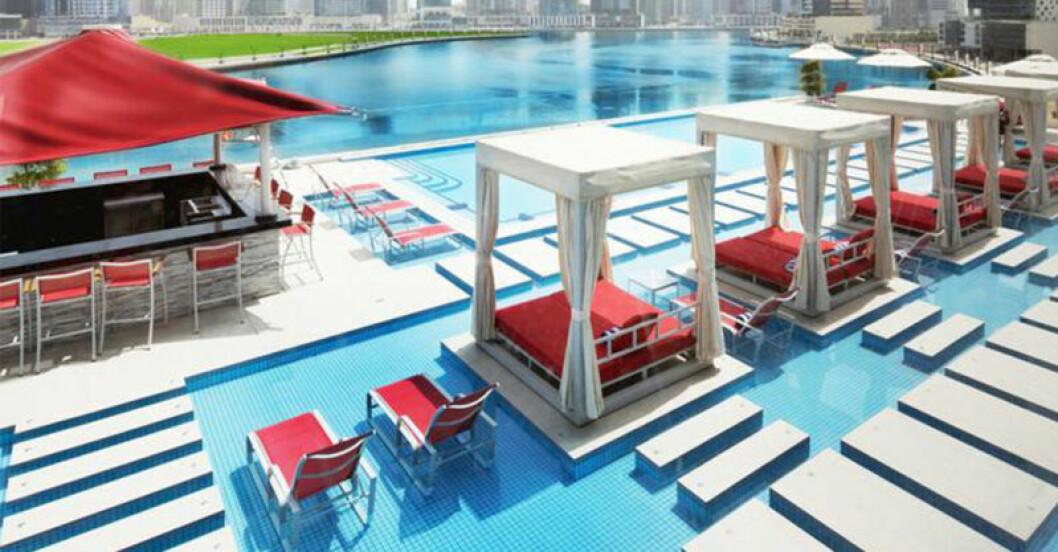 Canal Central Hotel i Dubai