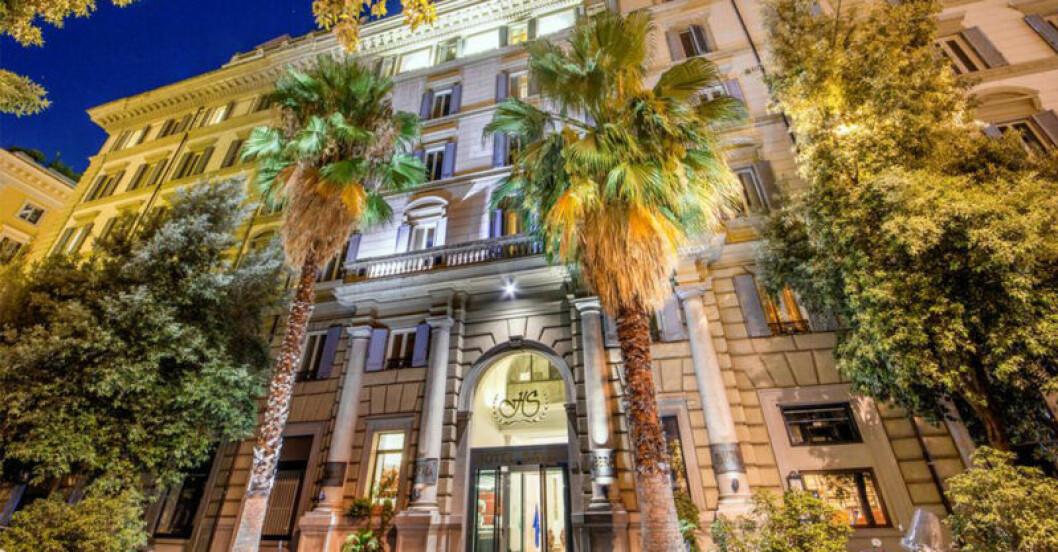 Hotel Savoy i Rom