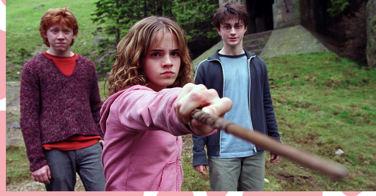 Rons, Hermiones och Harrys trollstavar kommer att finnas där!
